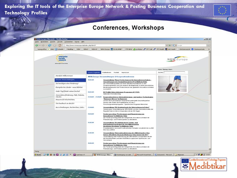 Conferences, Workshops