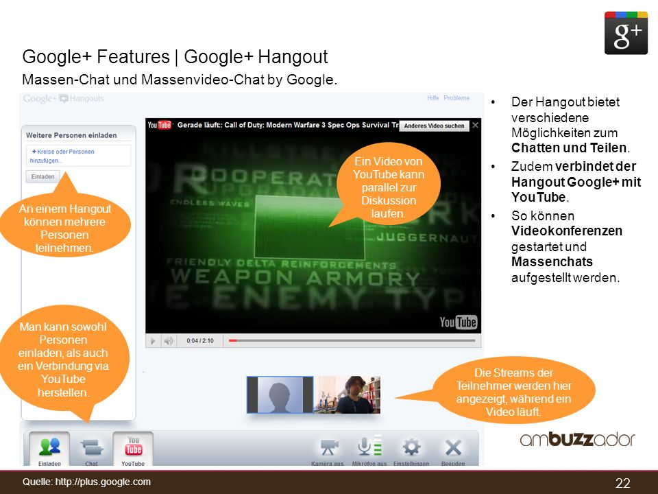 Google+ Features | Google+ Hangout