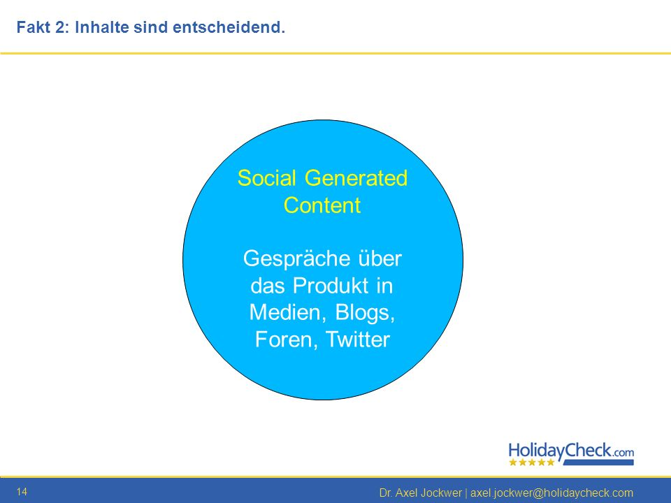 Social Generated Content