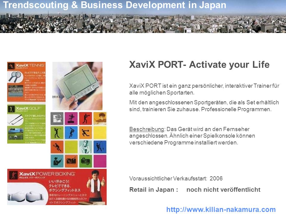 XaviX PORT- Activate your Life
