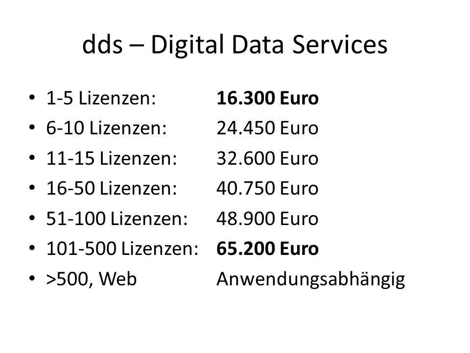 dds – Digital Data Services