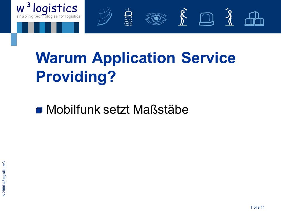 Warum Application Service Providing