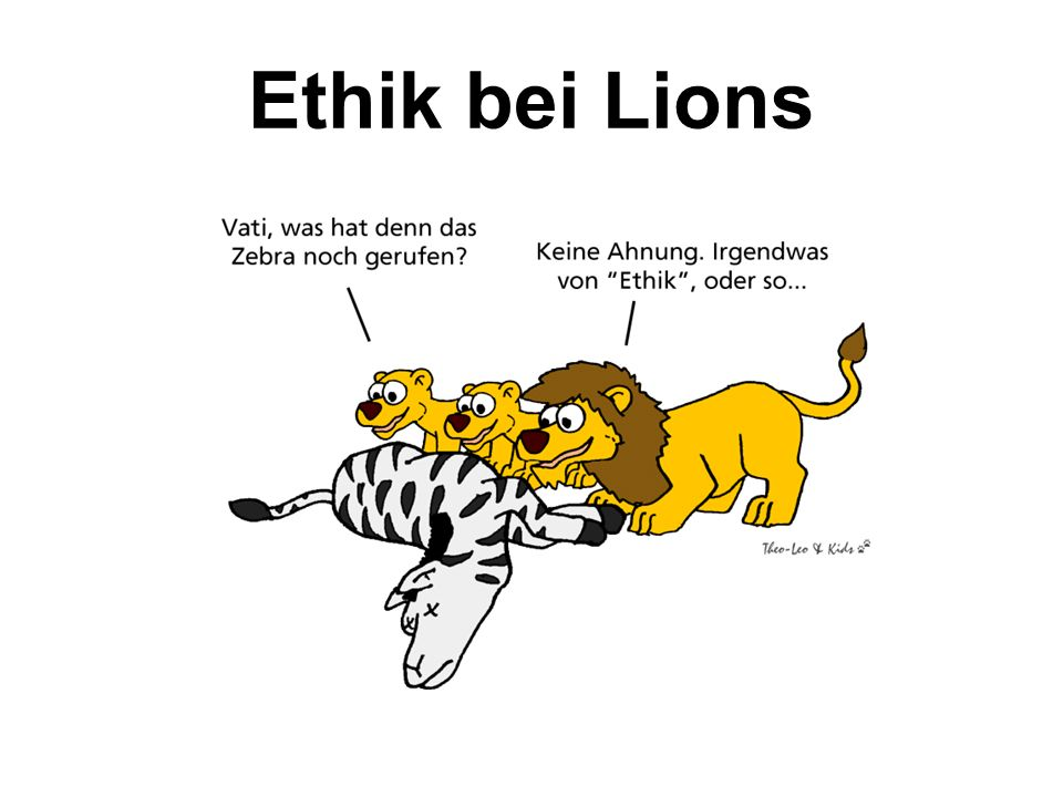 Ethik bei Lions