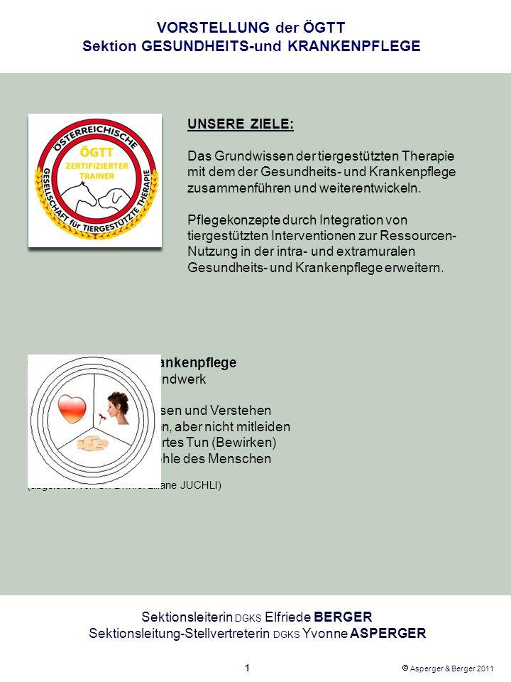 VORSTELLUNG der ÖGTT Sektion GESUNDHEITS-und KRANKENPFLEGE - ppt ...