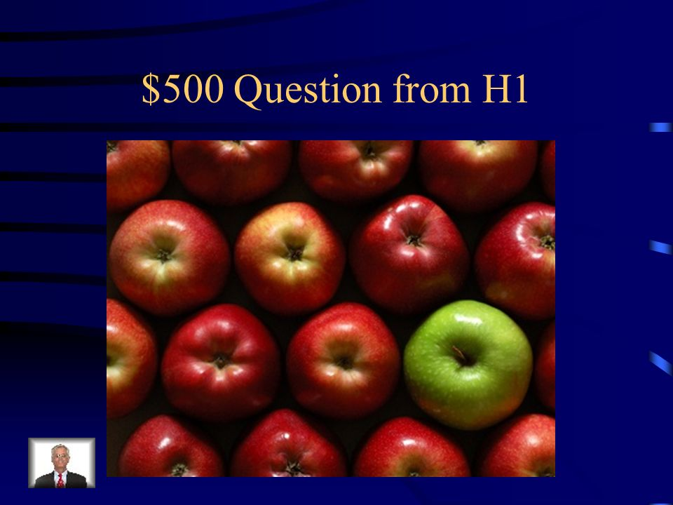 $500 Question from H1