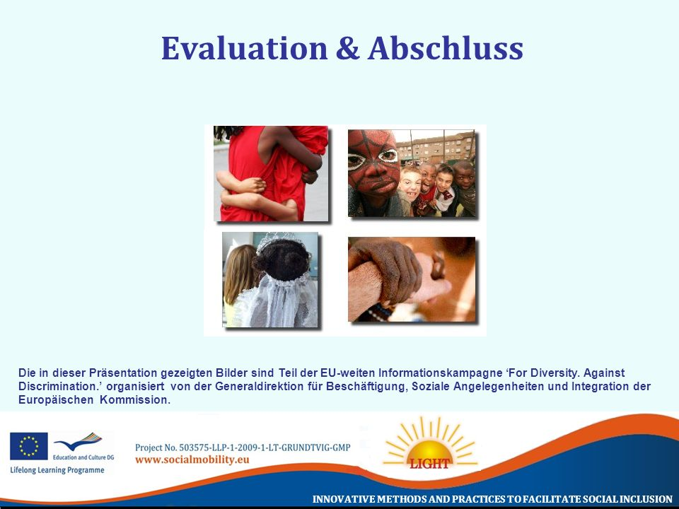 Evaluation & Abschluss