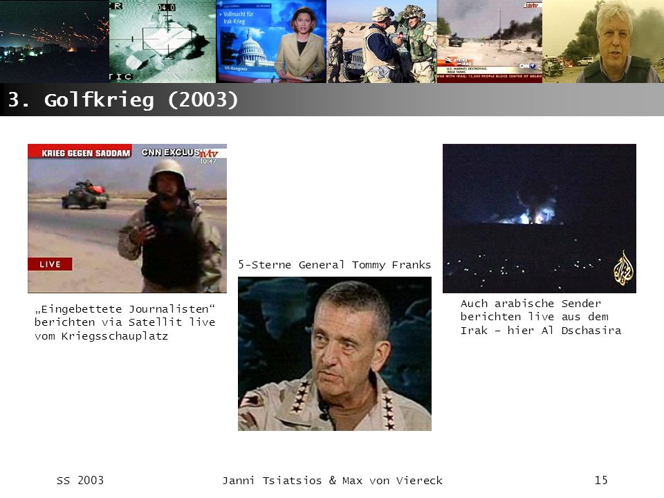 3. Golfkrieg (2003) 5-Sterne General Tommy Franks