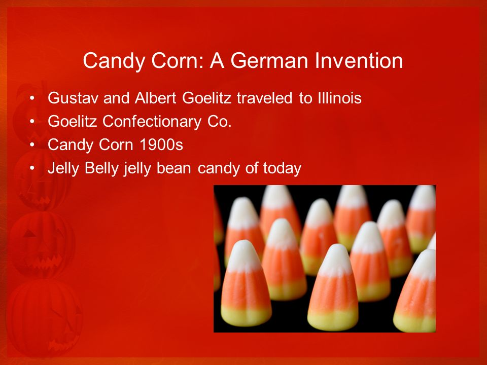 Candy Corn: A German Invention