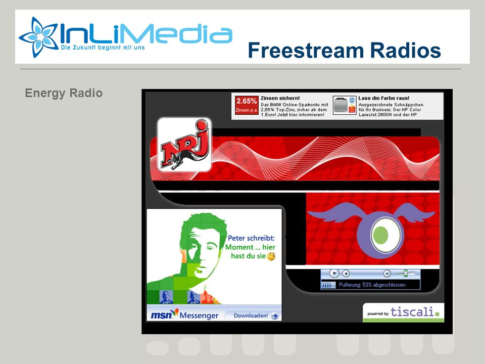 Freestream Radios Energy Radio Screenshot 1