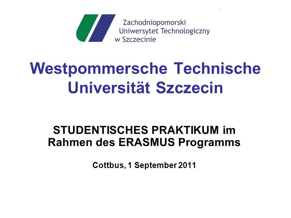 Westpommersche Technische Universität Szczecin - ppt herunterladen
