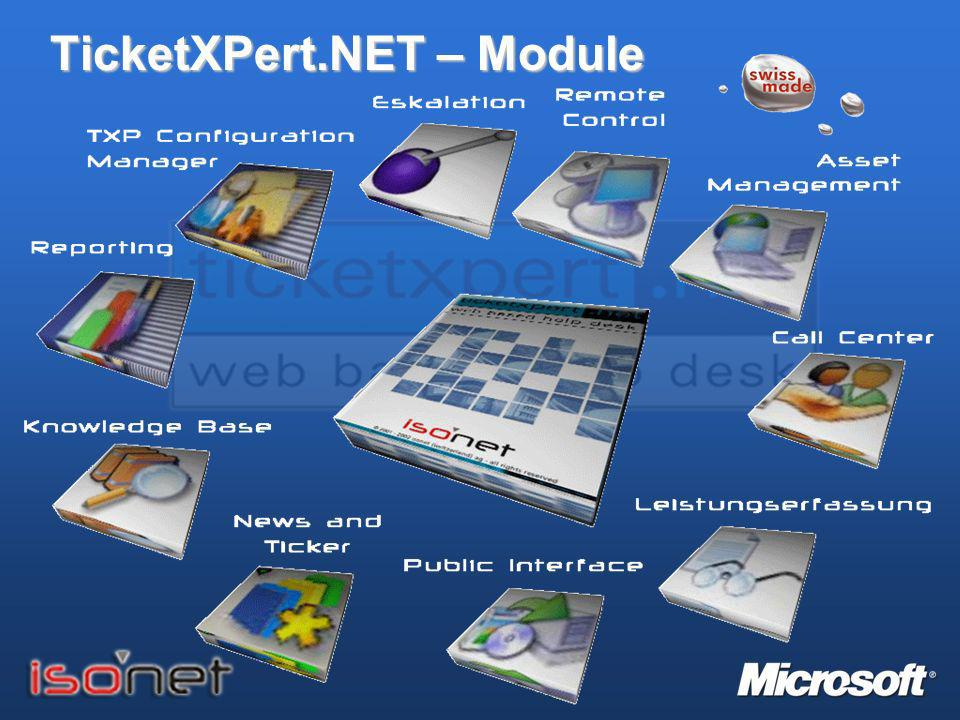TicketXPert.NET – Module