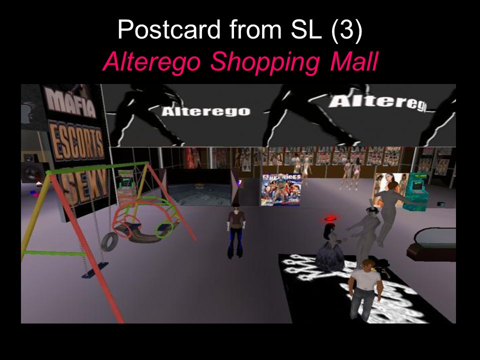 Postcard from SL (3) Alterego Shopping Mall