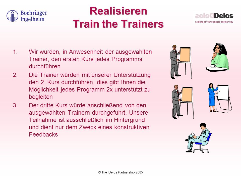 Realisieren Train the Trainers