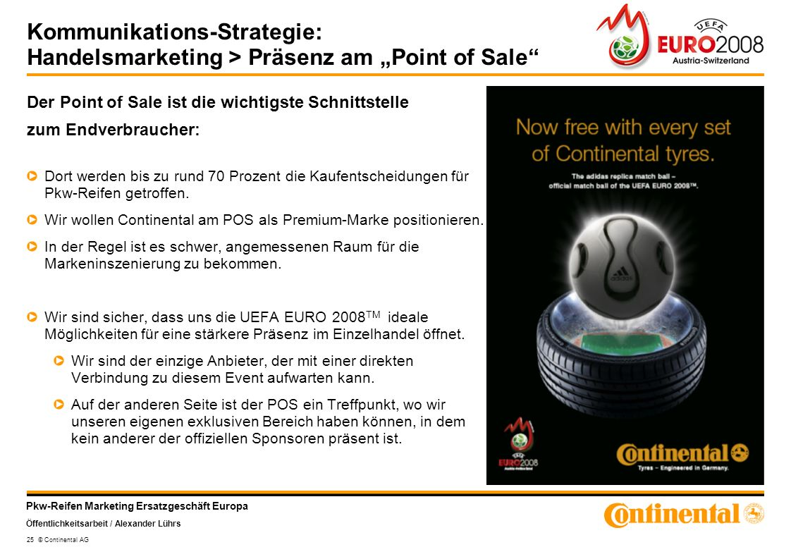 "Kommunikations-Strategie: Handelsmarketing > Präsenz am ""Point of Sale"