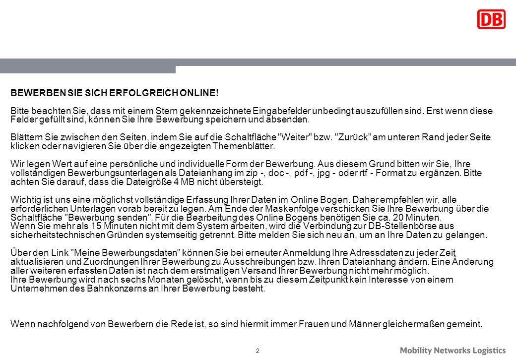 Arbeiten Bei Deutsche Bahn Bewerbung Einstieg Jobs 0