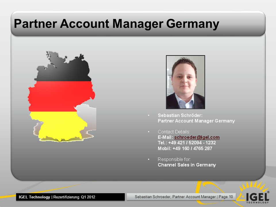 Partner Account Manager Germany