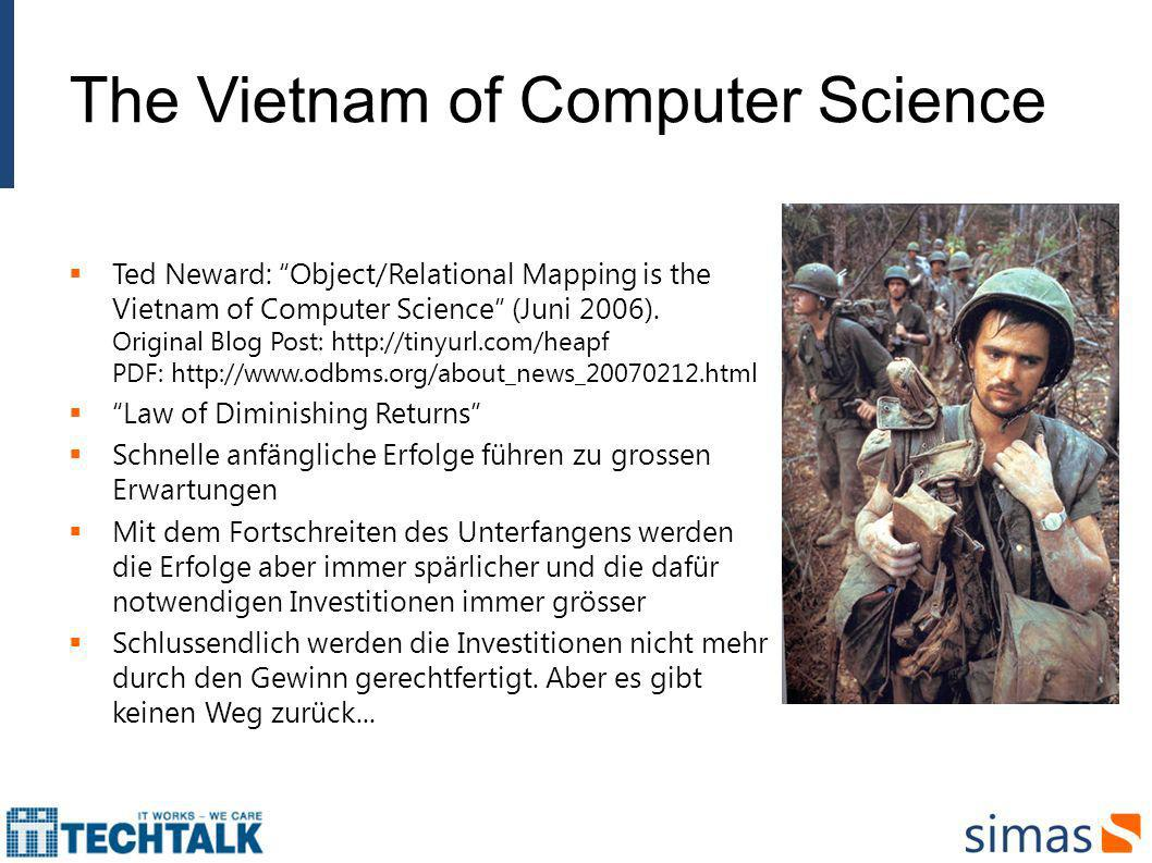 The Vietnam of Computer Science