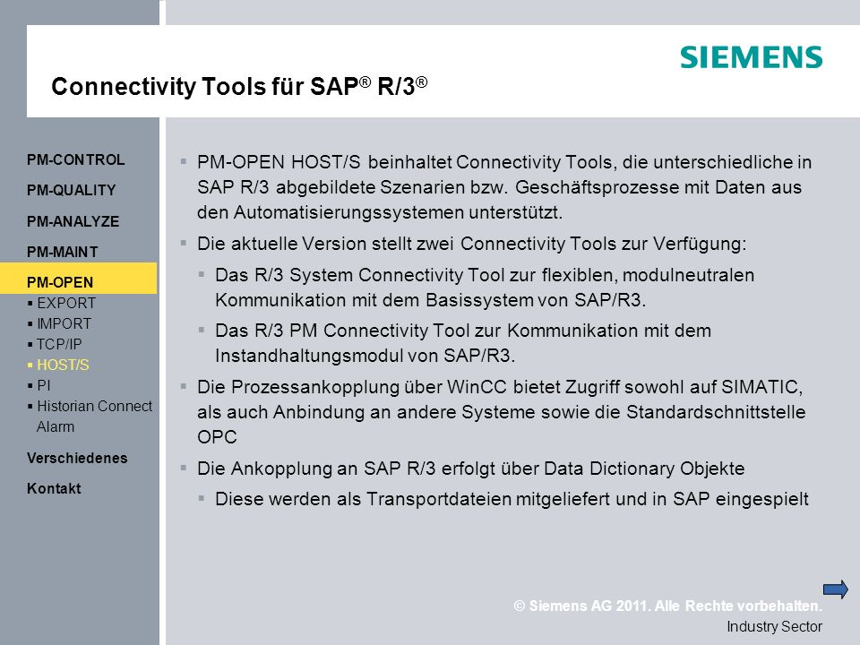 Connectivity Tools für SAP® R/3®