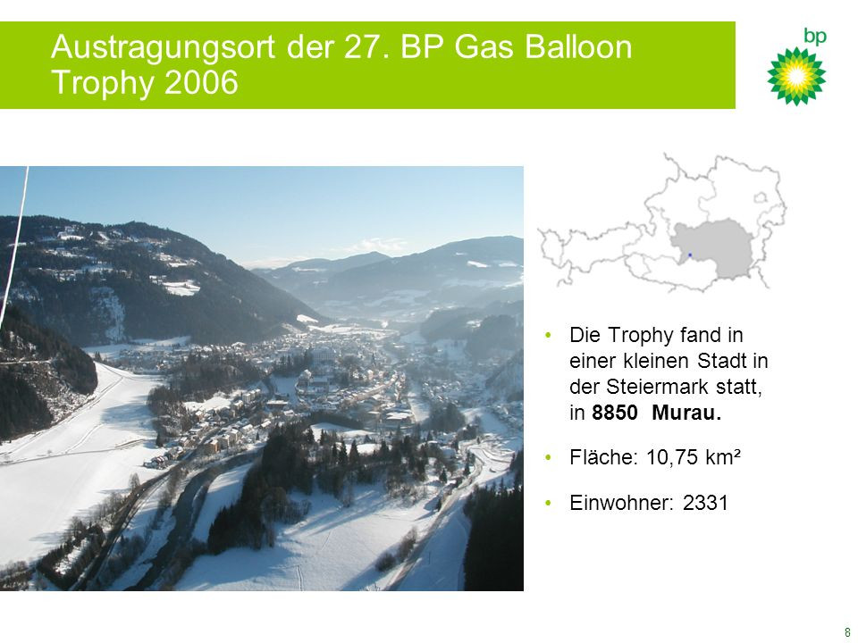 Austragungsort der 27. BP Gas Balloon Trophy 2006