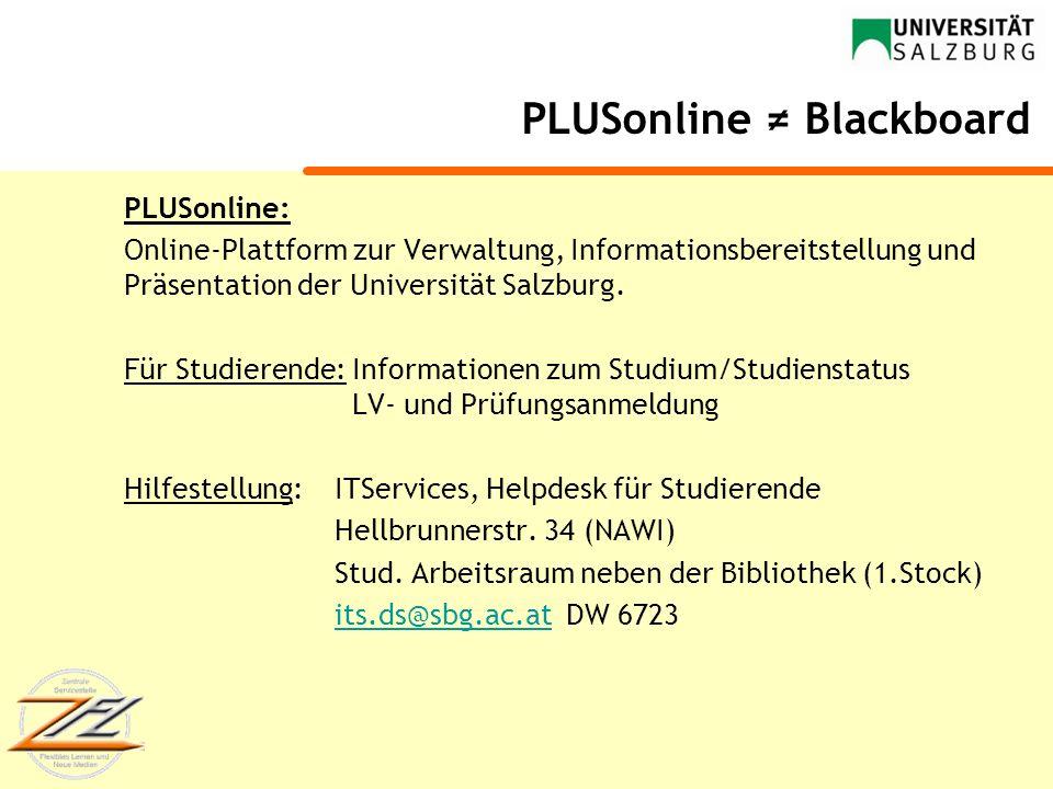 """Einführung in die Lernplattform """"Blackboard"""" - ppt video ...  Einführung in ..."""