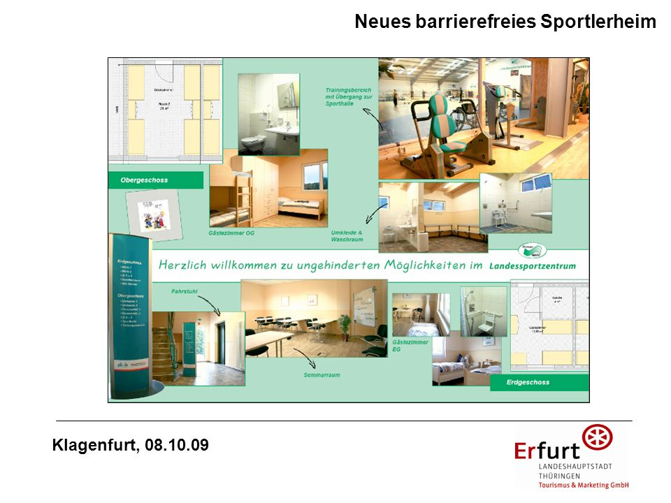 Neues barrierefreies Sportlerheim