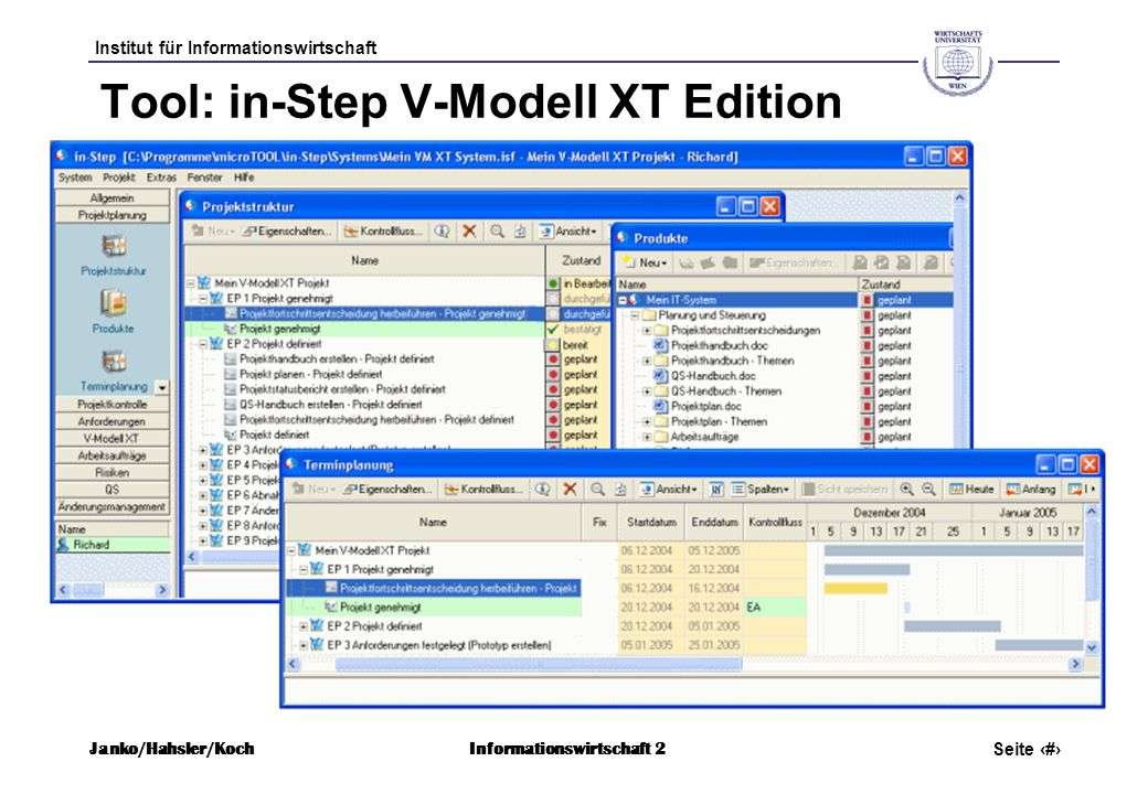 Tool: in-Step V-Modell XT Edition