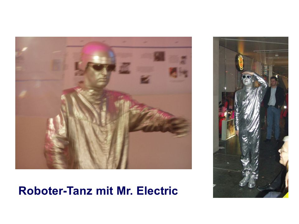 Roboter-Tanz mit Mr. Electric