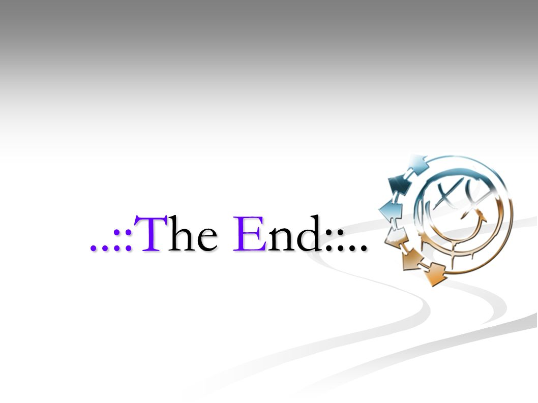 ..::The End::..