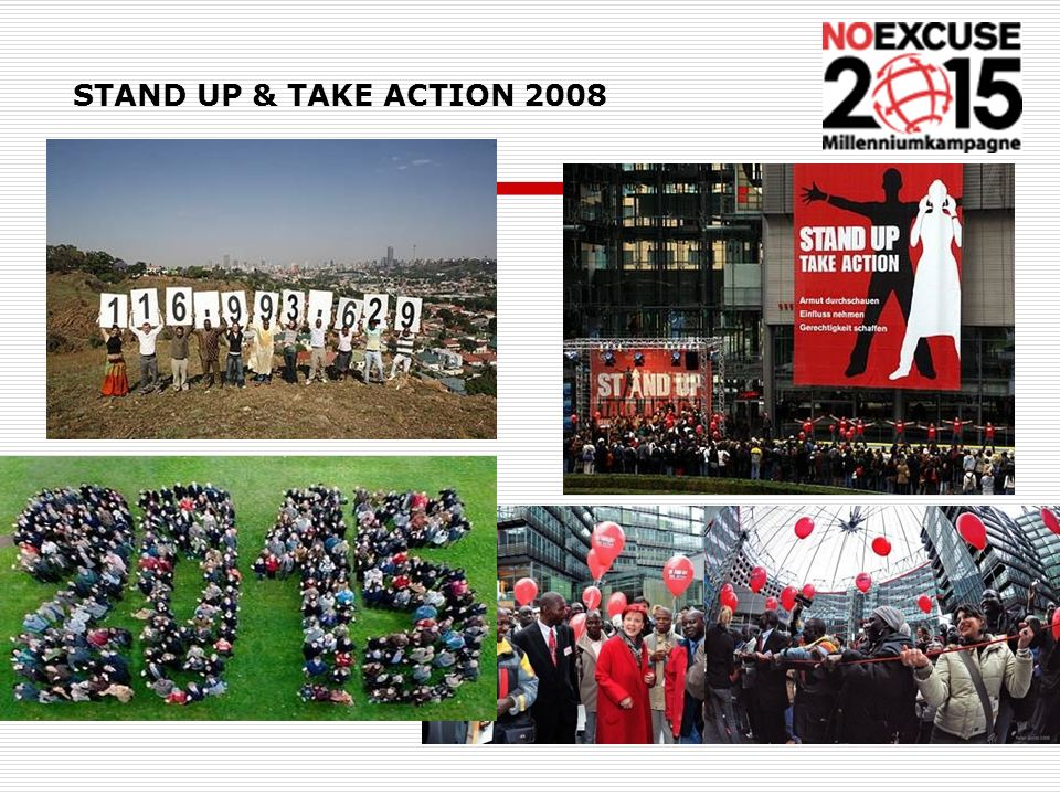 STAND UP & TAKE ACTION 2008