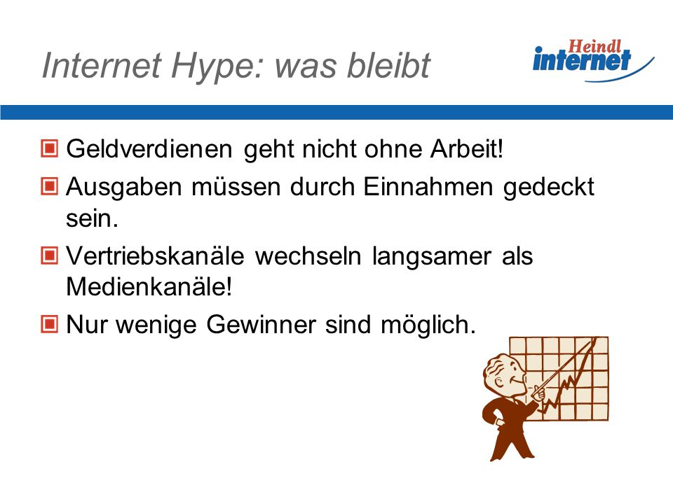 Internet Hype: was bleibt