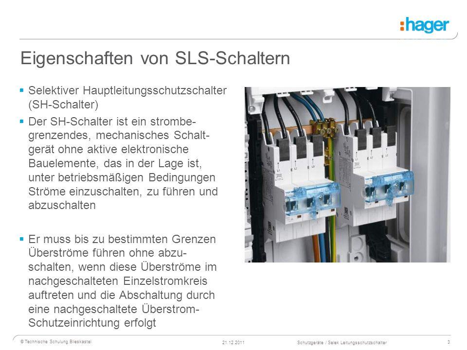 Selektiver Leitungsschutzschalter SLS mit - ppt video online ...