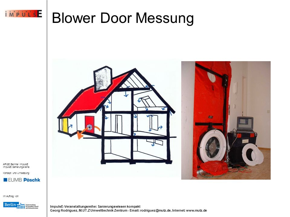 Blower Door Messung 12