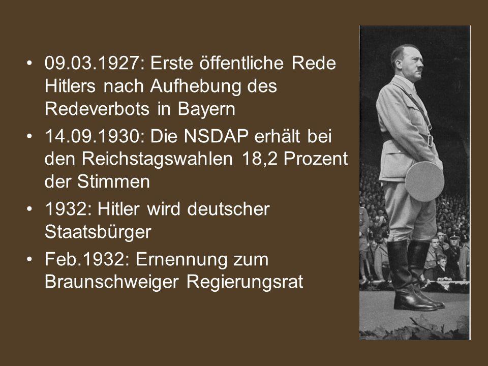1932 hitler wird deutscher staatsbrger - Hitlers Lebenslauf