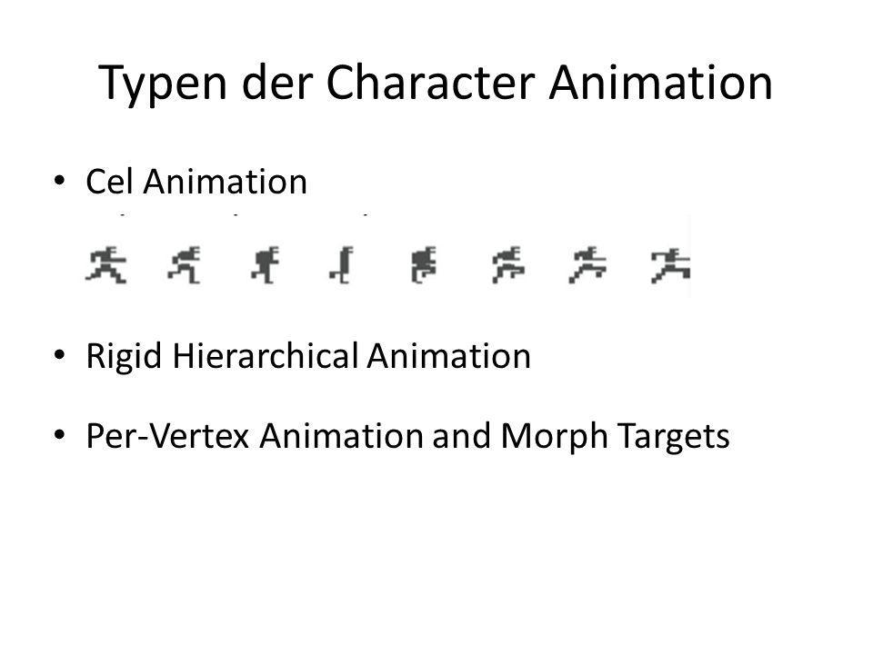 Typen der Character Animation