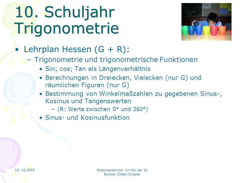 Stationenlernen im Mathematikunterricht der Sekundarstufe I - ppt ...