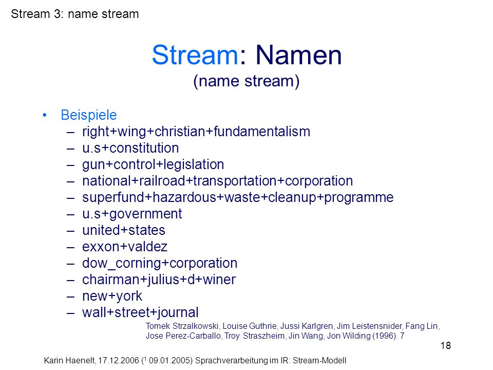 Stream: Namen (name stream)