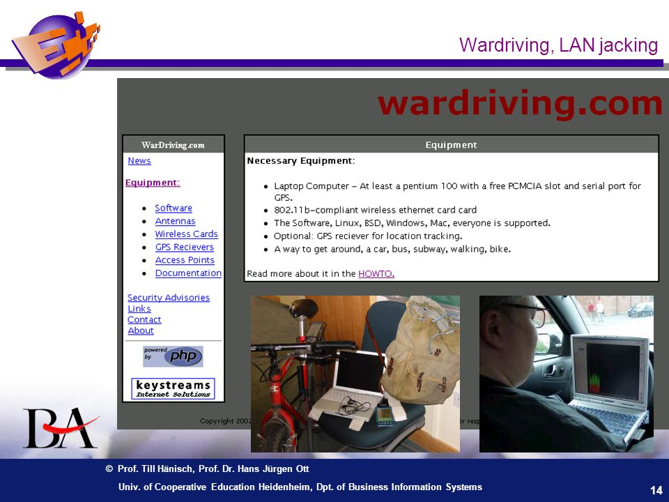 Wardriving, LAN jacking