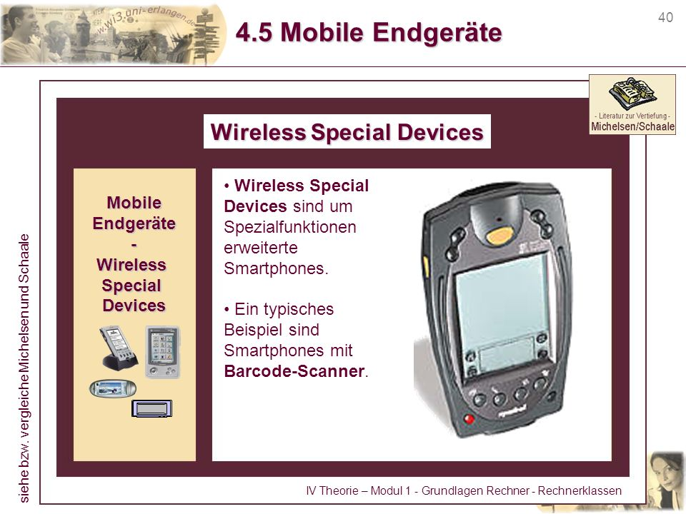 Wireless Special Devices
