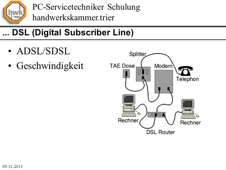 ... DSL (Digital Subscriber Line)