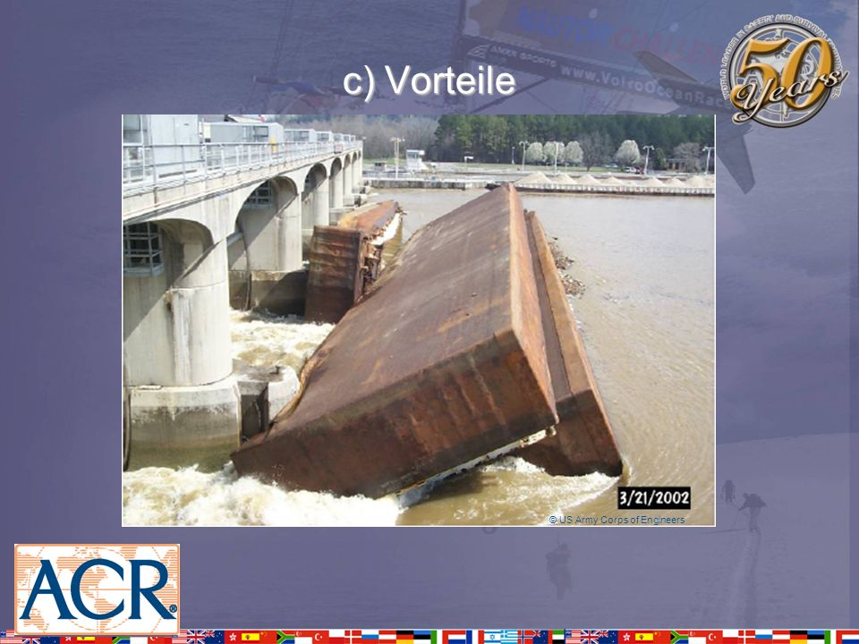 c) Vorteile © US Army Corps of Engineers