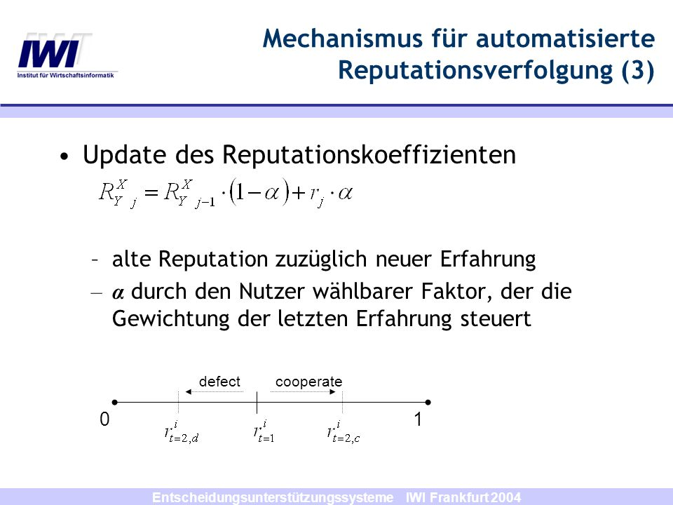 Mechanismus für automatisierte Reputationsverfolgung (3)