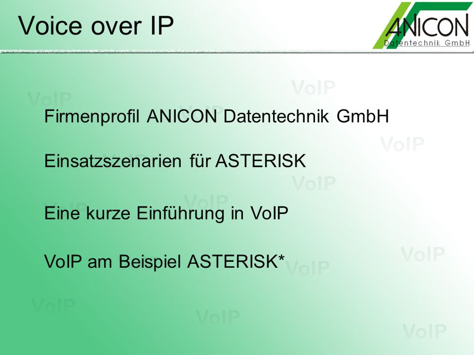 Firmenprofil ANICON Datentechnik GmbH