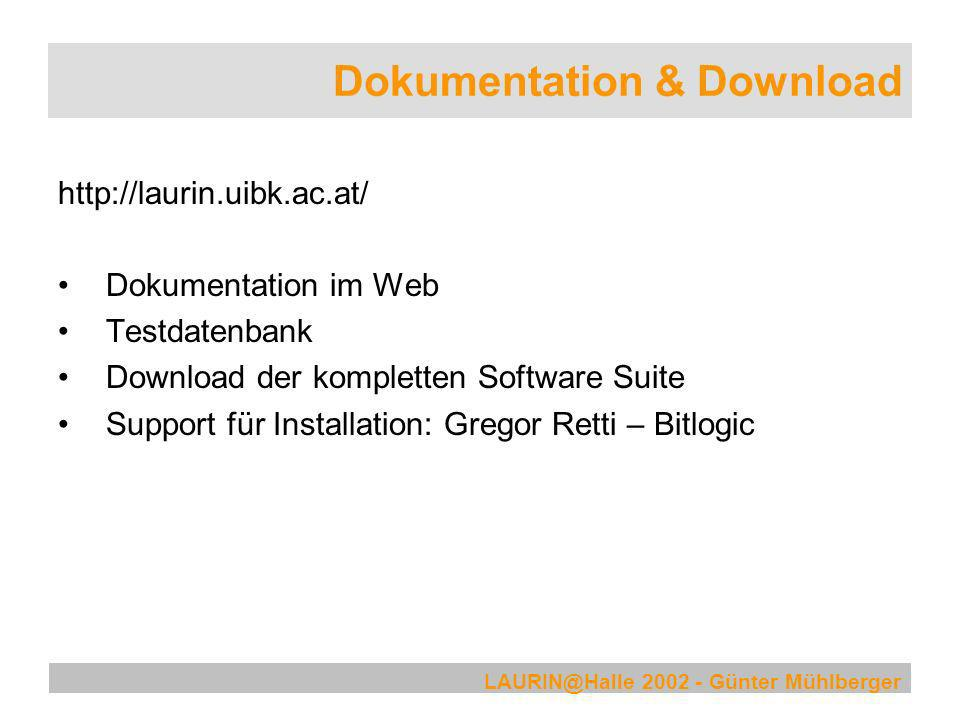 Dokumentation & Download