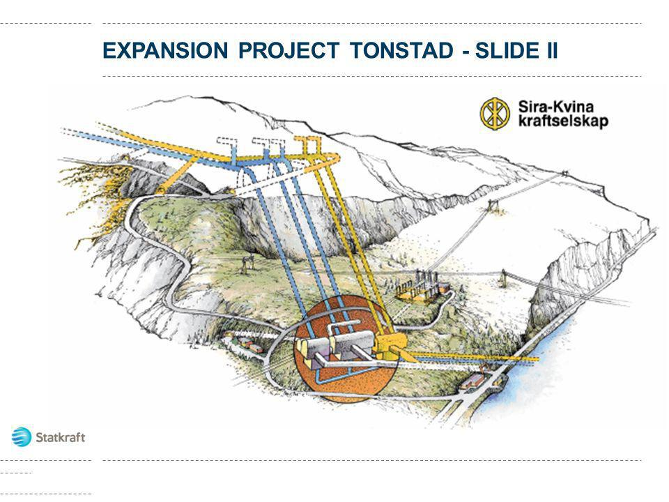 EXPANSION PROJECT TONSTAD - SLIDE II