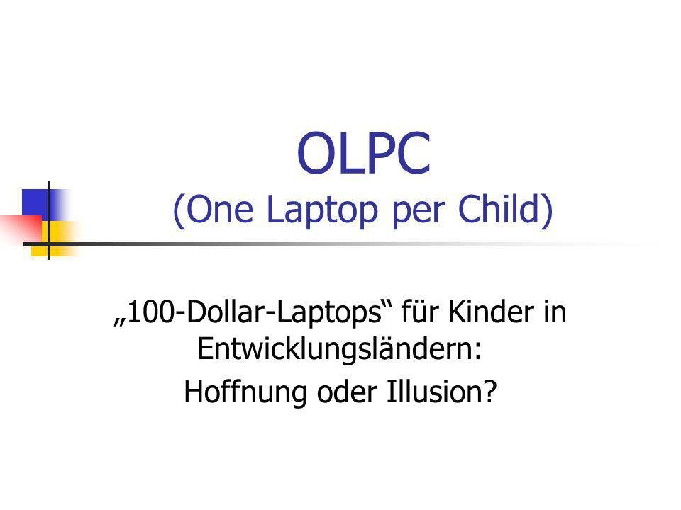 OLPC (One Laptop per Child)