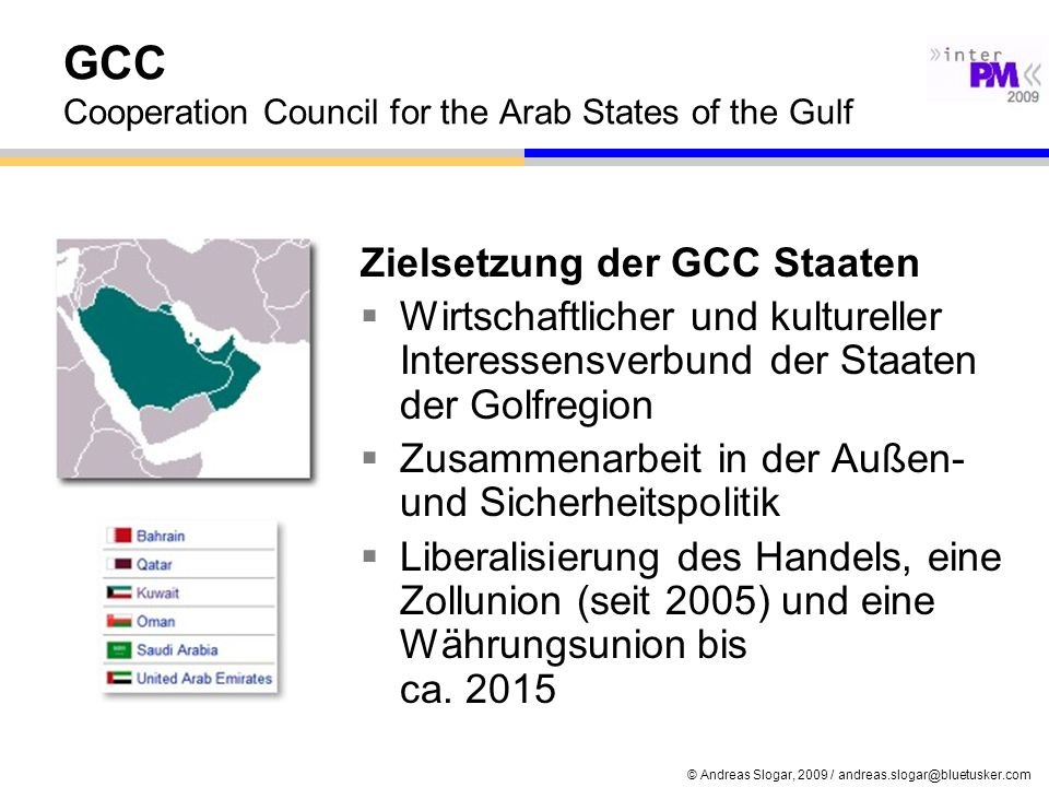 GCC Cooperation Council for the Arab States of the Gulf