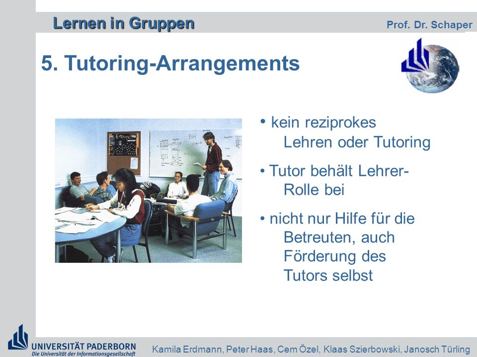 5. Tutoring-Arrangements