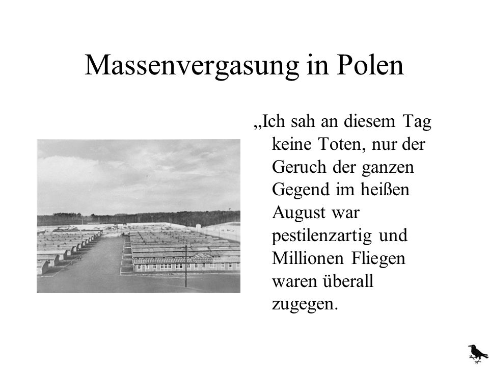 Massenvergasung in Polen