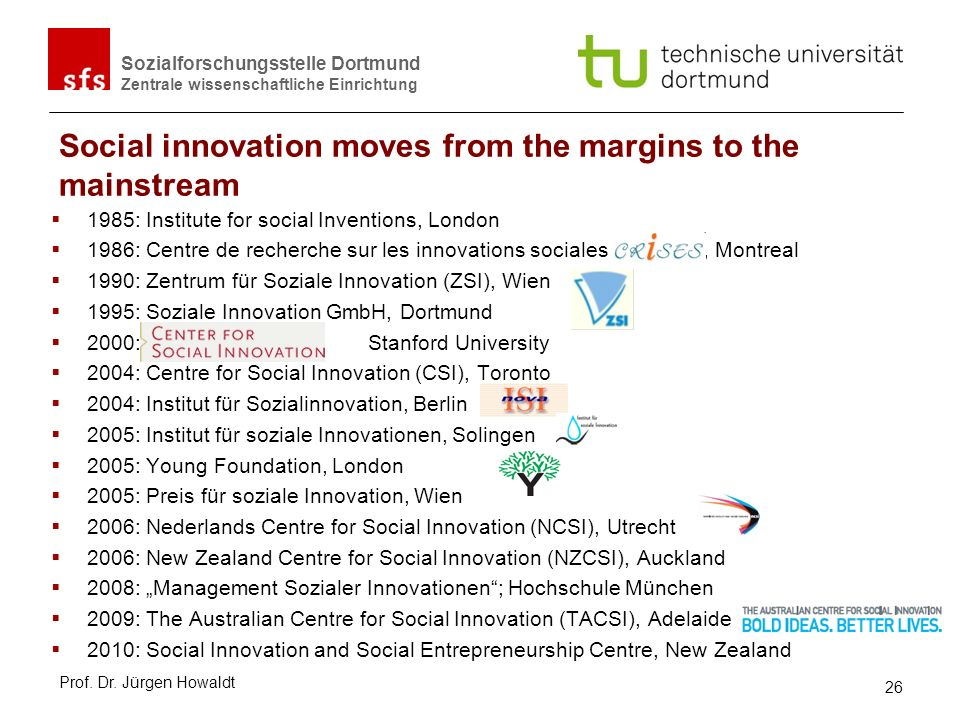 Social innovation moves from the margins to the mainstream