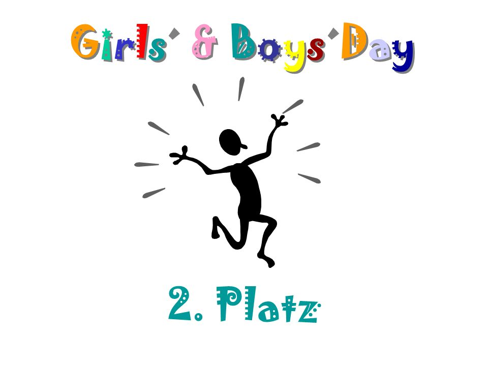 Girls´ & Boys´Day Girls´ & Boys´Day 2. Platz